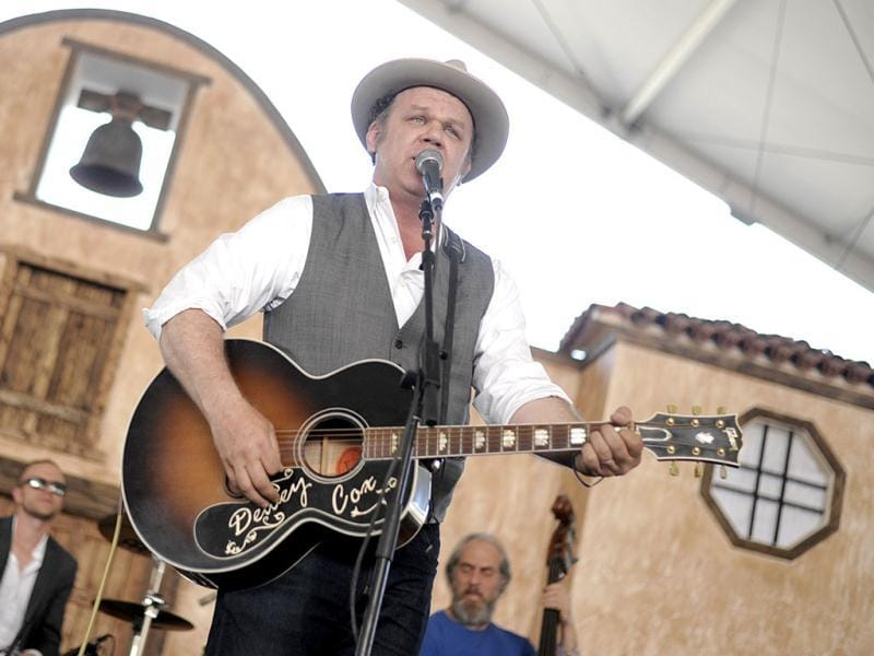 Singer and actor John C Reilly performs on day 3 of the 2013 Stagecoach Music Festival at the Empire Polo Club in Indio. (AP)