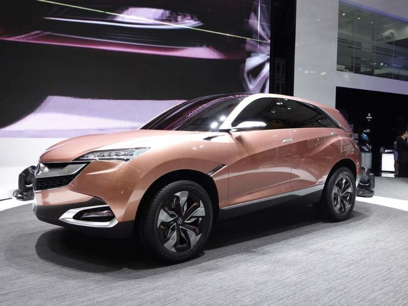 Acura Concept SUV-X : Developed primarily for the Chinese market. The high-end Japanese car maker claims that a production-ready version could be on sale in less than three years and will be aimed at the same market segment as the BMW X1. Photo:AFP