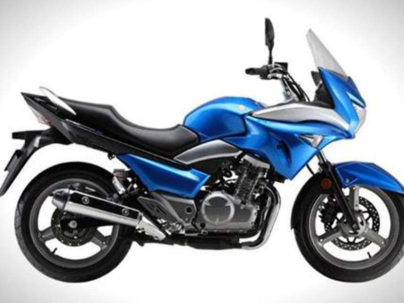 Suzuki unveils semi-faired Inazuma