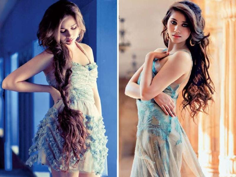 Salma Agha's daughter Sasha is quite set to be talk of the town. Earlier we got a glimpse of her beauty in upcoming film Aurangzeb's trailer and now we catch her looking hot in a magazine shoot. Check her out!