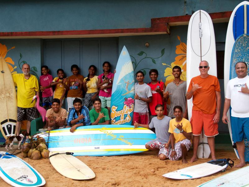 The Mantra Surf Club in Mangalore, one of the oldest in India since 2004 (Photo: Rammohan Paranjape)