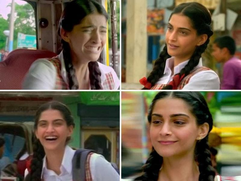 Sonam Kapoor, Abhay Deol and Dhanush starrer Raanjhnaa is scheduled for release on June 21. Initial trailer and promos of the movie have revealed Sonam Kapoor as a rather endearing school girl.