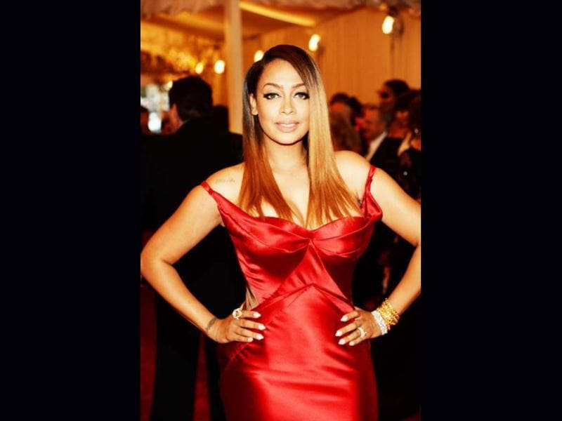 La La Anthony attends the Costume Institute Gala for the