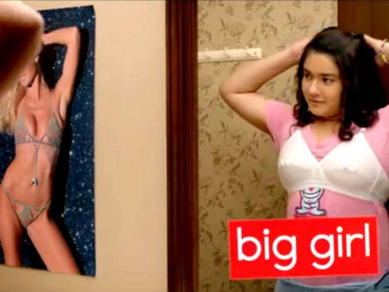 From the promos, it seems like Gippi wants to be a Bollywood heroine but she is not as hot as other girls of her age.