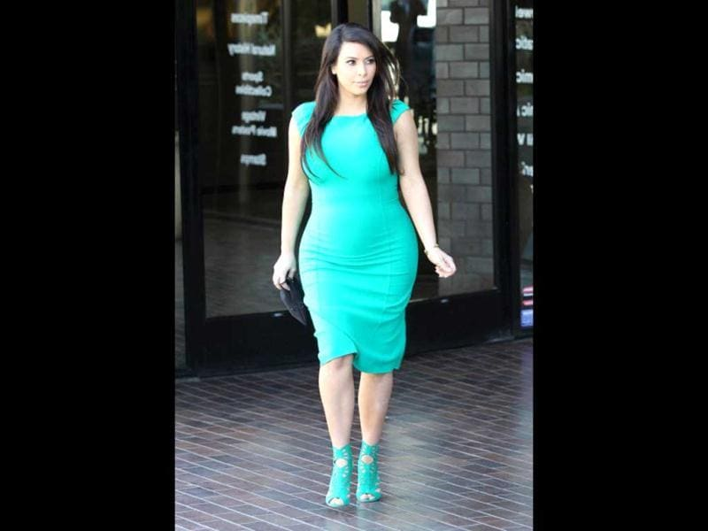 Kim Kardashian is seen on April 17, 2013 in Los Angeles, California. (Photo courtesy: Getty Images)