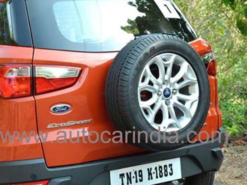 Ford EcoSport India review, test drive