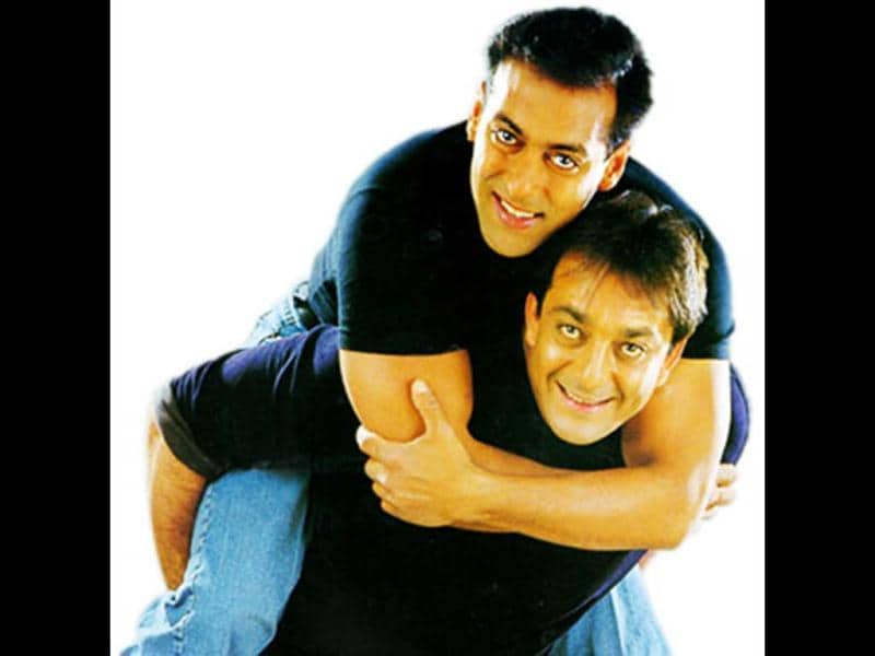 Sanju Baba (as he is fondly called by his friends) and Sallu first worked together in Saajan which was a hit in 1991. The two came together on screen only a decade later with Chal Mere Bhai in 2000. Muazzem Beg is now making a documentary film of the legal battles of both Sanjay and Salman.