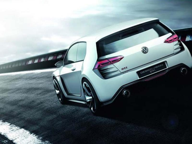 Golf Design Vision GTI concept boasts 496bhp and 4WD.