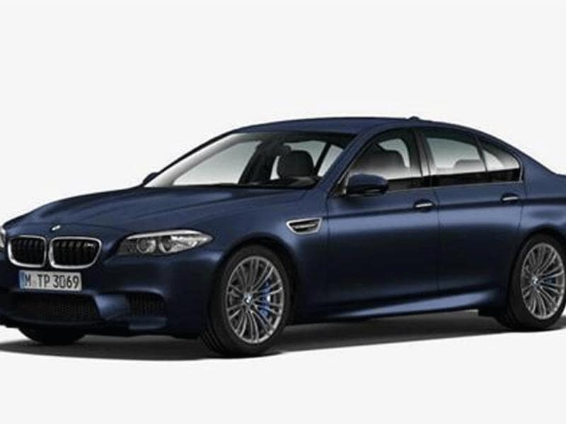 BMW M5 facelift images leaked