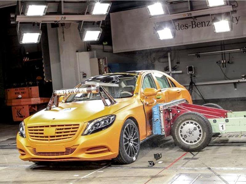 New Mercedes S-class official photo gallery
