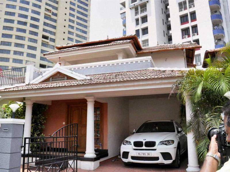 Cricketer S Sreesanth's house wears deserted look in Kochi. Sreesanth was arrested along with two other Rajasthan Royals players for spot-fixing. PTI photo