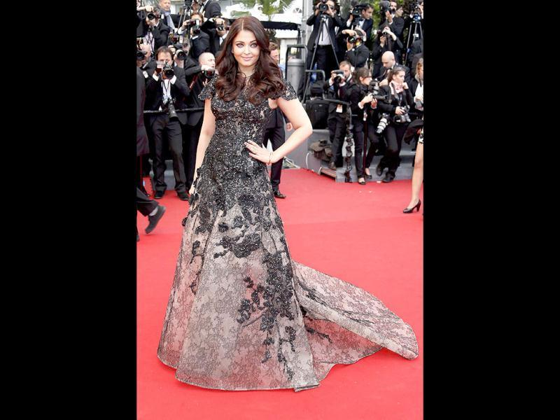 Smouldering Ash: Aishwarya Rai on the Cannes 2013 red carpet