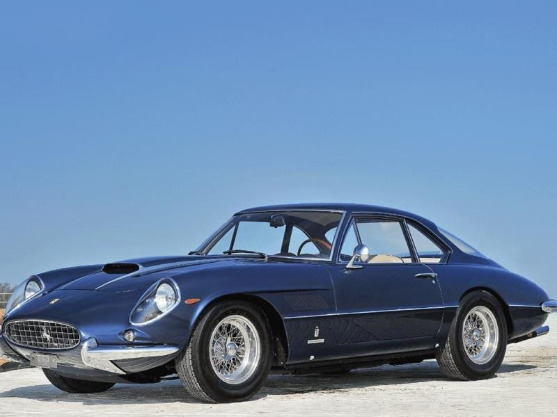 1962 Ferrari 400 Superamerica SWB Coupé Aerodinamico by Pininfarina : This car is special for two reasons - first it is one of only 36 ever built, and two, those cars were only made and given to Ferrari's favourite clients, technically they were never for sale. €1,900,000 - €2,300,000 Photo:AFP