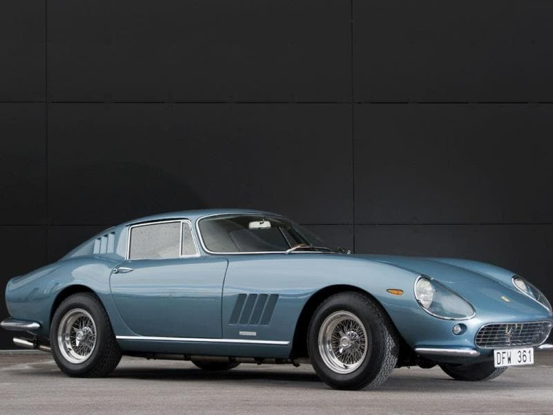 1965 Ferrari 275 GTB by Scaglietti : This actual car wowed the crowds at the Paris Salon in 1964 and could send the auction's audience into a similar bidding frenzy. It is estimated to fetch €850,000. Photo:AFP