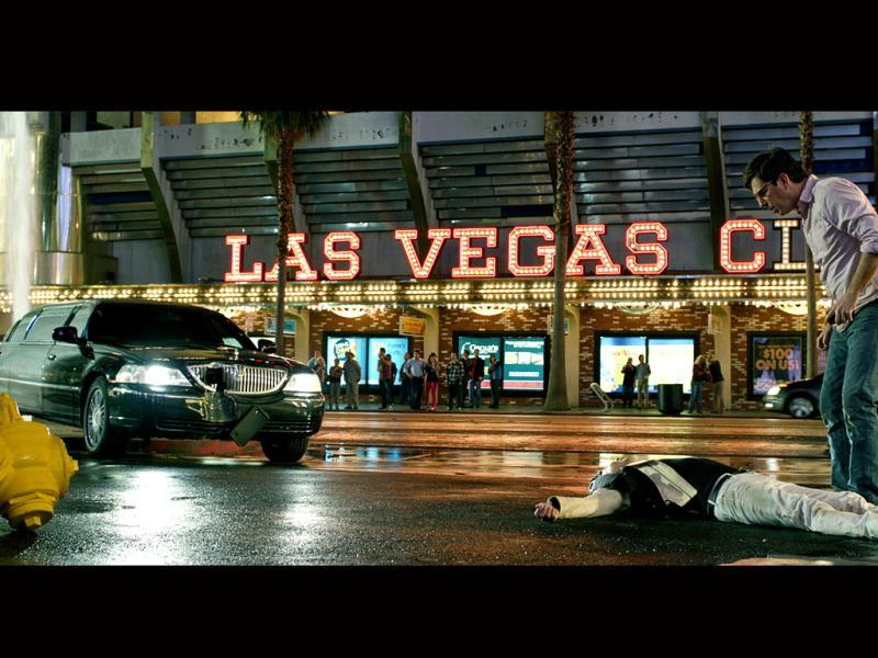 Vegas. Car. Potentially dead man. Wonder what's happening there?