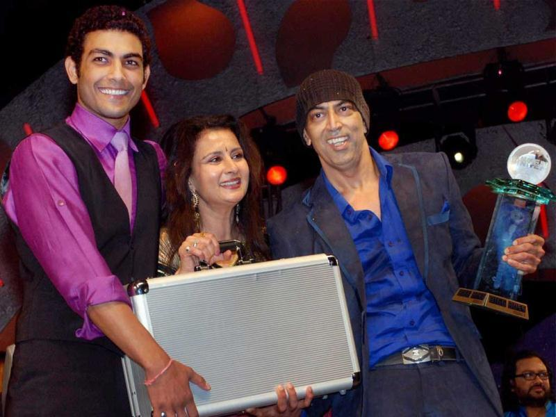 Vindoo Dara Singh is seen after winning the season 3 of Bigg Boss in December 2009. PTI/Files