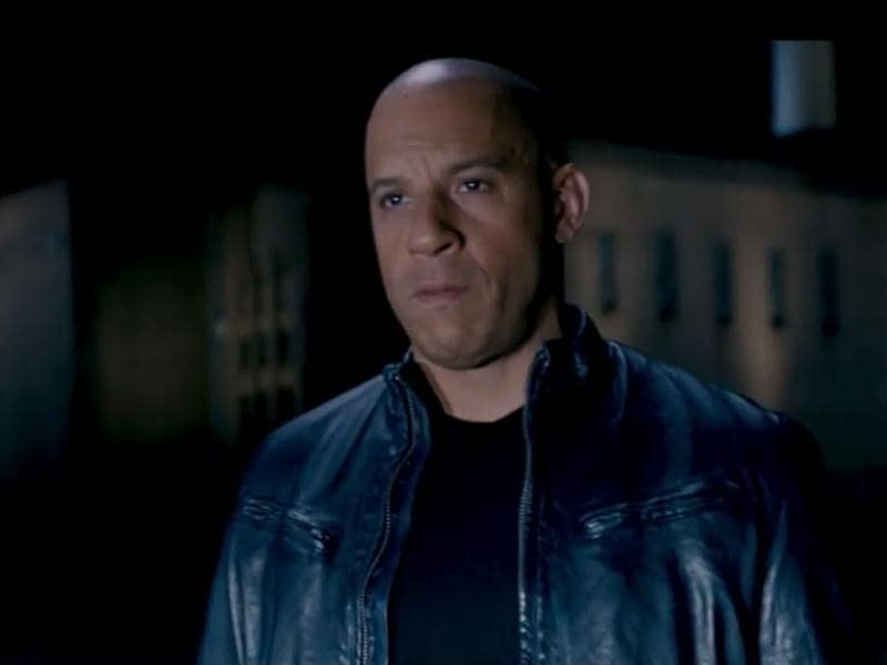 Vin Diesel in a still from the movie