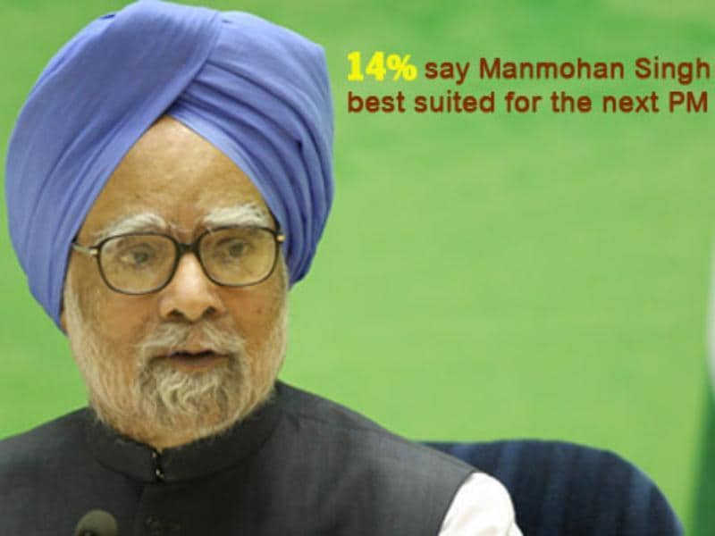 Nation's choice for PM's job: Manmohan Singh