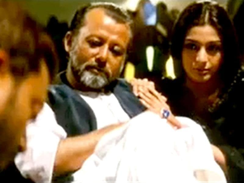 Pankaj Kapoor and Tabu in a still from Maqbool, another of Vishal Bhardwaj's masterpieces which was inspired by Shakespeare's Macbeth.