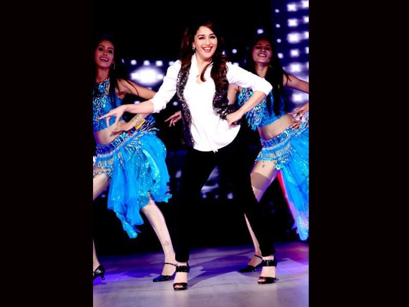 Madhuri shows who is boss!