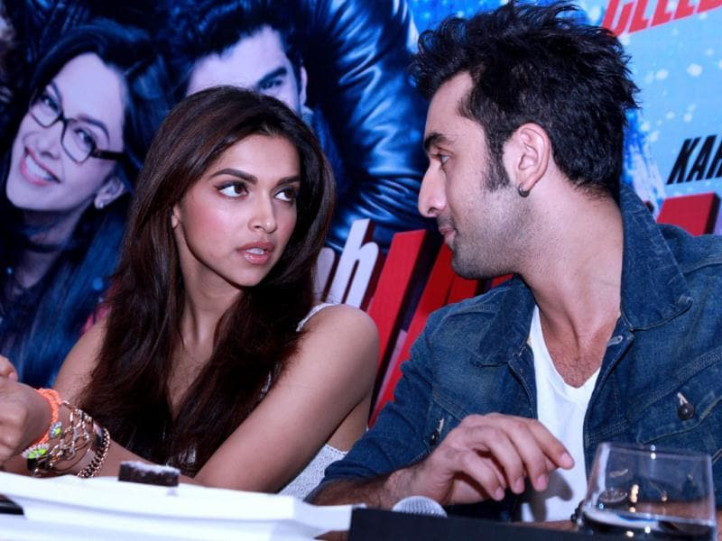 Ranbir: Let's stand on chairs! Deepika: What?!
