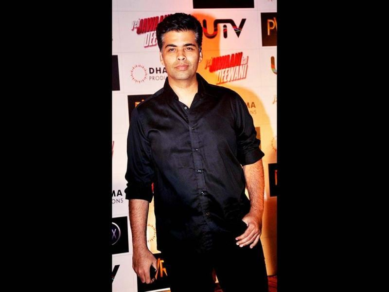 Black is black: Karan Johar (AFP Photo)