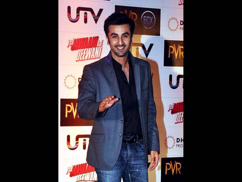 Ranbir Kapoor ditched his casual self and went for a suited gentleman look. You Gatsby you! (AFP Photo)