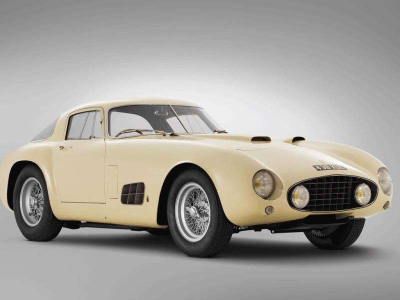 1955 Ferrari 410 S Berlinetta by Carrozzeria Scaglietti $8,250,000 (2012) : The engineering underneath may have been common in other race-orientated Ferraris from the same period, but the coachwork courtesy of Carrozzeria Scaglietti, one of the most celebrated craftsmen in Ferrari's history (the 2004 Ferrari 612 Scaglietti was named in his honor), is a one-off. He hand-fabricated it for Ferrari SEFAC board member Michel Paul-Cavallier. No wonder it cost over $8 million. Photo:AFP