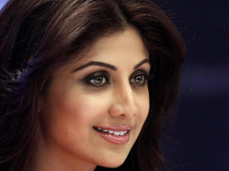 Bollywood actress Shilpa Shetty was present at the launch of a water purifier in New Delhi on Saturday. We take a look at the various moods she swinged through as the shutterbugs clicked. (PTI Photo)