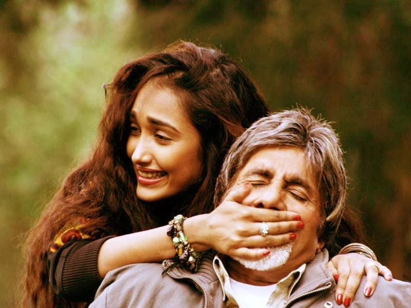 Jiah Khan's controversial debut as Amitabh Bachchan's young lover in Nishabd (2007) won her critical acclaim and even the Filmfare Best Debut award.