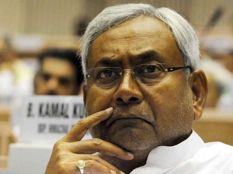 Bihar chief minister Nitish Kumar. (Sunil Saxena/HT Photo)