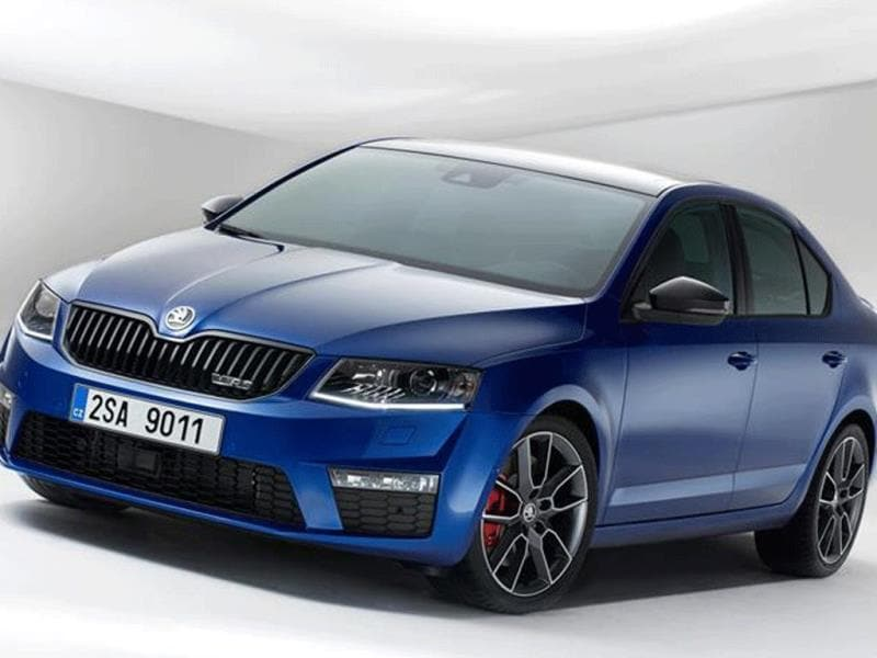 New Skoda Octavia vRS photo gallery
