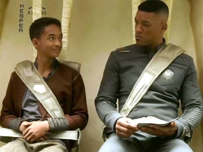 After Earth is about a crash landing that leaves Kitai Raige (Jaden Smith) and his father Cypher (Will Smith) stranded on Earth, a millennium after events forced humanity's escape.