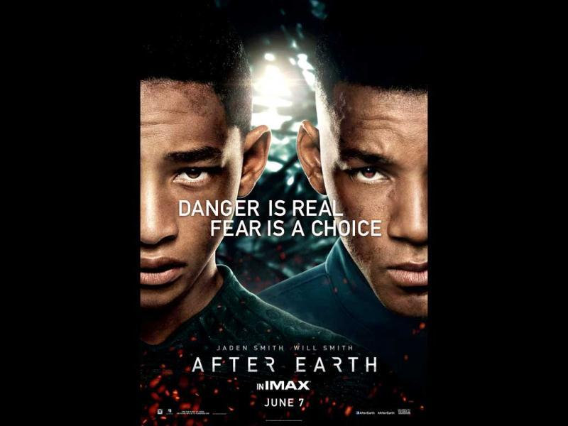 After Earth is a film by Manoj Night Shyamalan starring Will Smith and his son Jaden in the lead.
