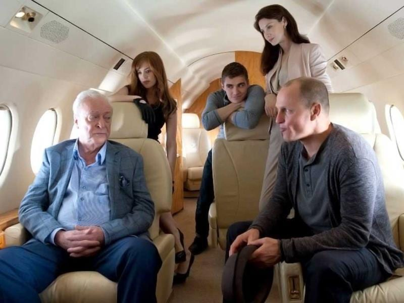 Michael Caine (left) stars as the insurance magnate Arthur Tressler in Now You See Me.
