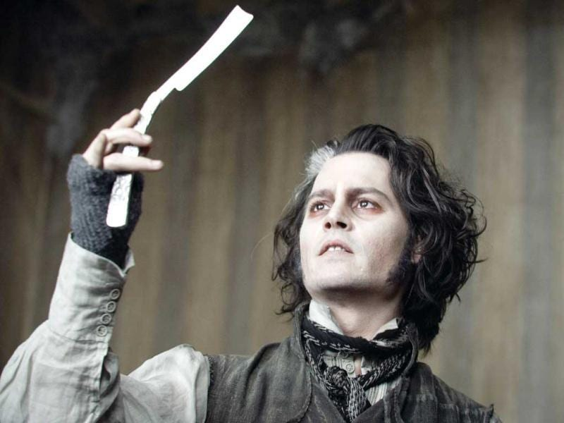 Cut cakes, not pies? (Sweeny Todd - 2007)
