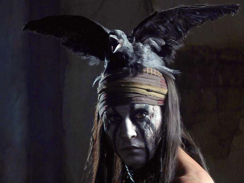 Johnny Depp's latest The Lone Ranger is soon to release in theatres.