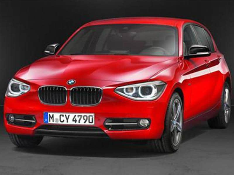 BMW teases 1-series for India