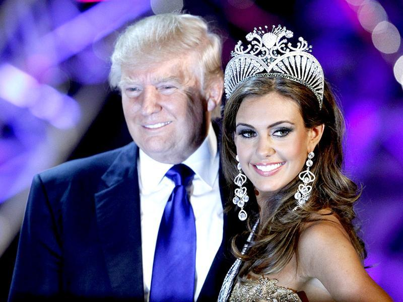 Erin Brady poses with Donald Trump, co-owner of the Miss Universe Organization, after being crowned Miss USA 2013 at the Planet Hollywood Resort and Casino in Las Vegas, Nevada. Reuters