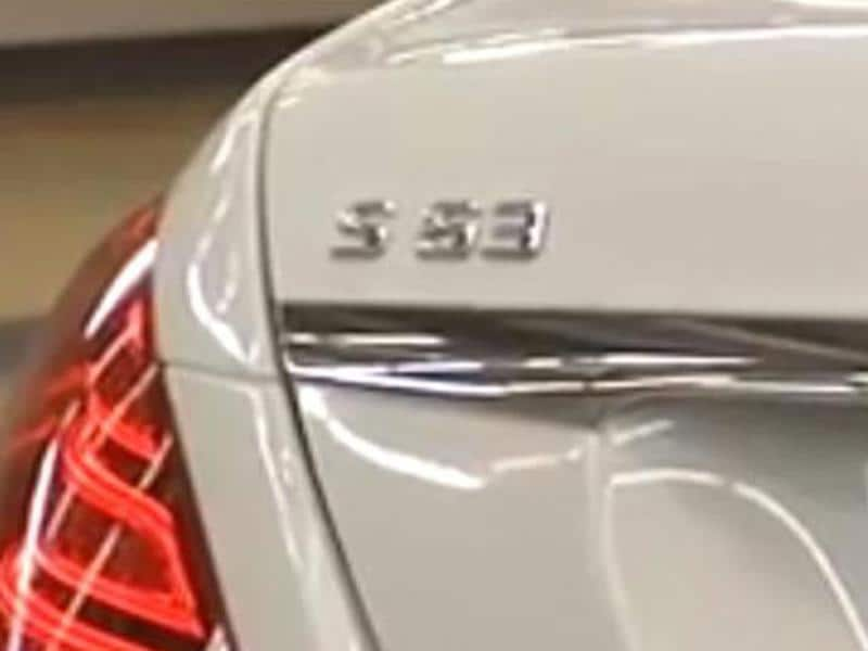 Mercedes S 63 AMG leaked