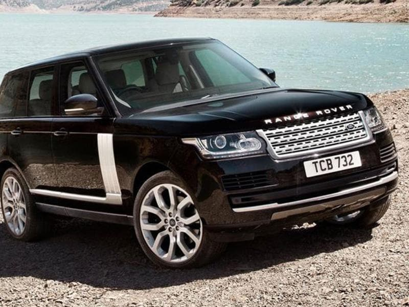 Land Rover will bring a hybrid version of the New Range Rover at the show.
