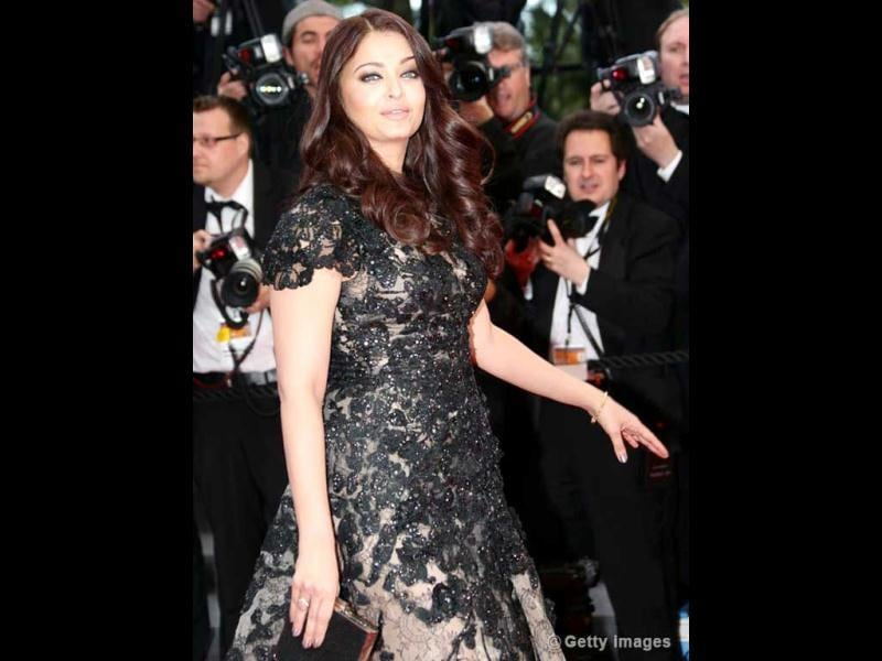 Aishwarya Rai looks gorgeous in this one too! (AFP Photo)