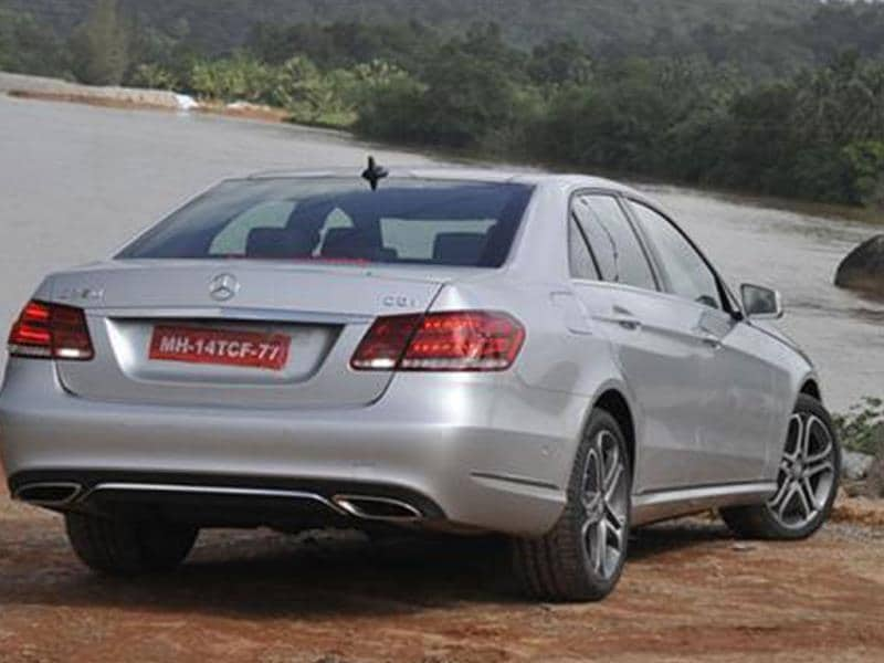 New 2013 Mercedes E-Class review, test drive