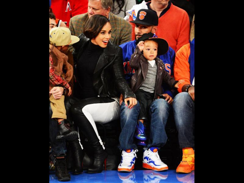 Alicia Keys and son Egypt. From direction to location?