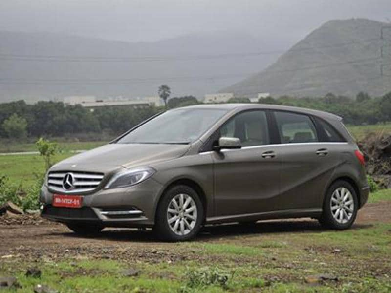 Mercedes B-Class diesel review, test drive