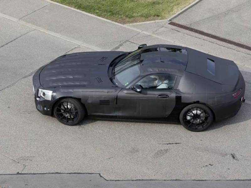 Mercedes-Benz SLC AMG spy pic gallery