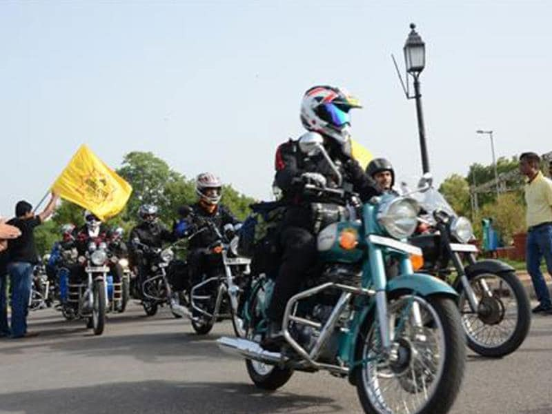 Royal Enfield's 10th Himalayan Odyssey flagged off