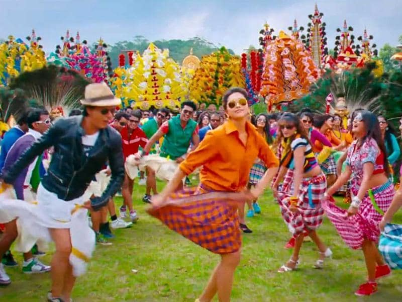 Shah Rukh Khan and Deepika Padukone are back together with Rohit Shetty's comedy Chennai Express after five years.