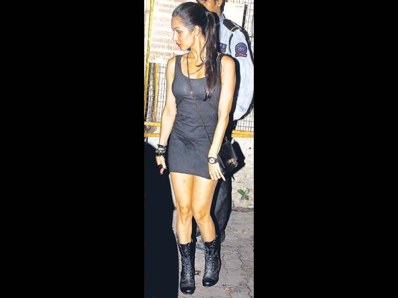Malaika Arora Khan in a short and smart number