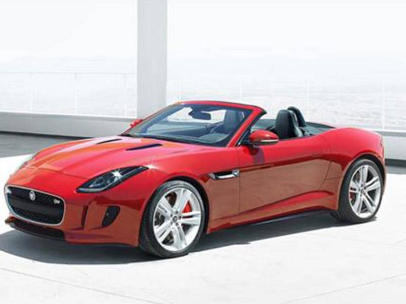 Jaguar's F-type launched in V6 S and V8 S variants. Photo:Autocar India